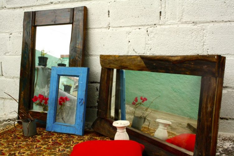 Rustic Decor, Rustic Mirror