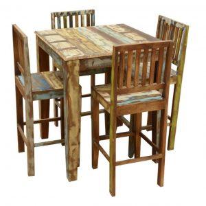 Warbler Rustic four seater Dining set